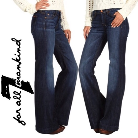 74fcb25d21 7 For All Mankind Denim - 7 For All Mankind Dojo Flare Jeans Authentic Fate